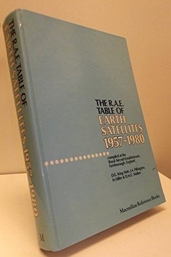 9780871965998: Rae Table of Earth Satellites: 1957-1980