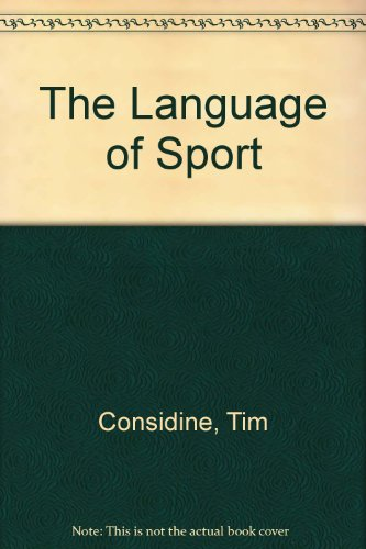 9780871966537: The Language of Sport