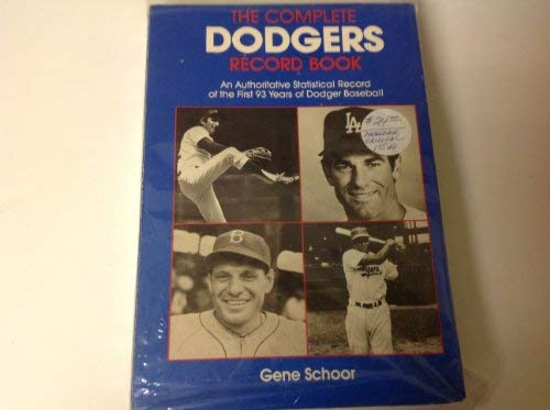 9780871966964: The Complete Dodgers Record Book
