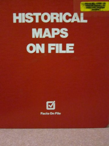 9780871967084: Historical Maps on File