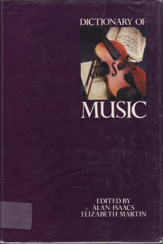 9780871967527: Dictionary of Music