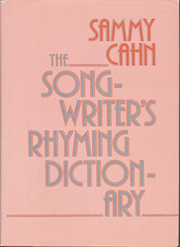 9780871967657: The Songwriter's Rhyming Dictionary