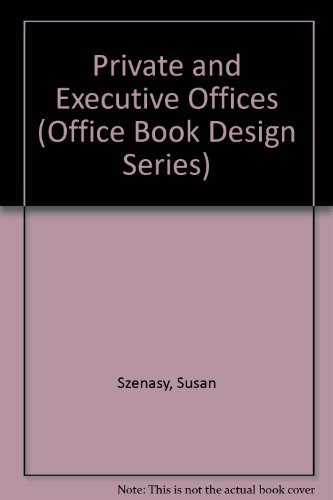 9780871967688: Private and Executive Offices (Office Book Design Series)