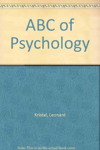 ABC of Psychology: Kristal, Leonard