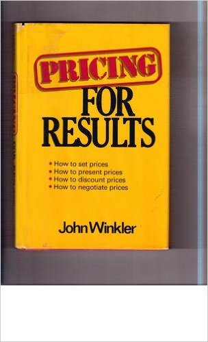 9780871968494: Pricing for Results
