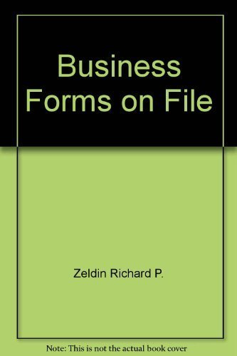 9780871968814: Business forms on file
