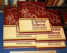 9780871970701: Popular Science Homeowner's Encyclopedia, 5 Volume Set