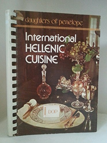 9780871970961: International Hellenic cuisine