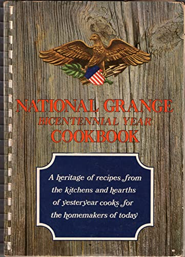 National Grange bicentennial year cookbook: Bicentennial, American Revolution