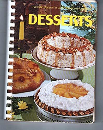 Favorite recipes of ESA Women International: Desserts