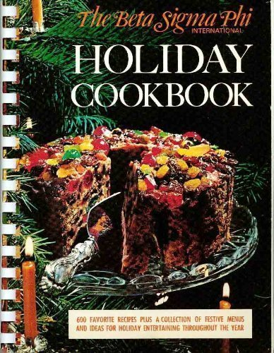 The Beta Sigma Phi international holiday cookbook