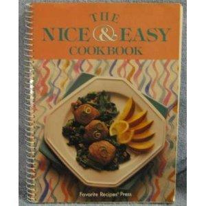 9780871972705: The Nice & Easy Cookbook (Favorite Recipes of Home Economics Teachers)