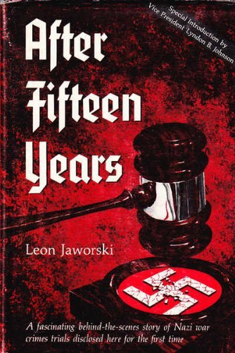 After Fifteen Years: Jaworski, Leon