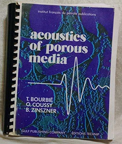 9780872010253: Acoustics Of Porous Media