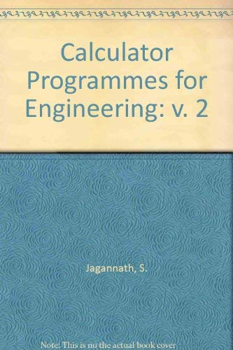 002: Calculator Programs for the Hydrocarbon Processing: Jagannath, S.