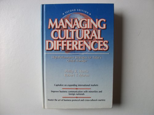 9780872011618: Managing Cultural Differences (Building Blocks of Human Potential)