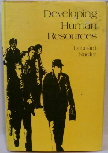 Developing human resources: Nadler, Leonard