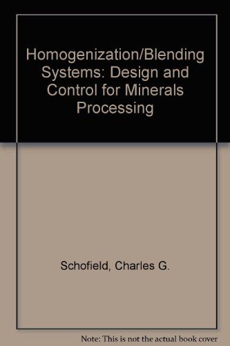 9780872013605: Homogenization/Blending Systems Design and Control for Minerals Processing