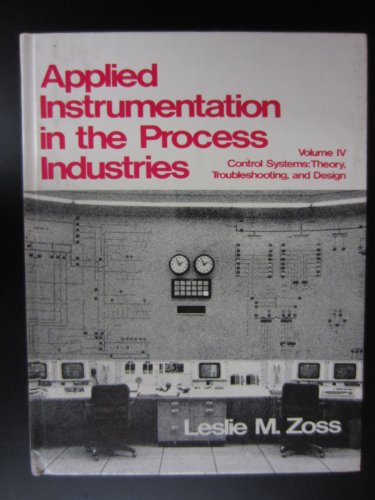 9780872013919: Applied Instrumentation in the Process Industries