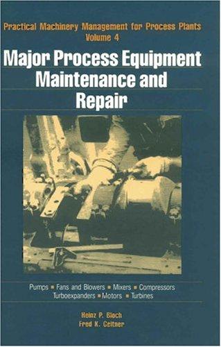 9780872014541: Major Process Equipment Maintenance and Repair