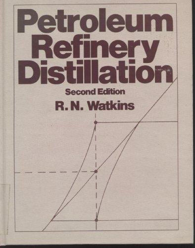 Petroleum Refinery Distillation: Watkins, Robert N.