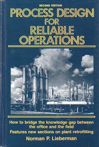 9780872016835: Process Design for Reliable Operations