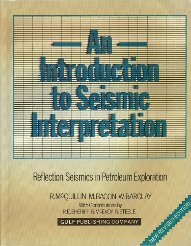 9780872017733: An Introduction to Seismic Interpretation
