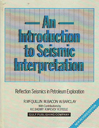 9780872017740: Intro to Seismic Intrptn
