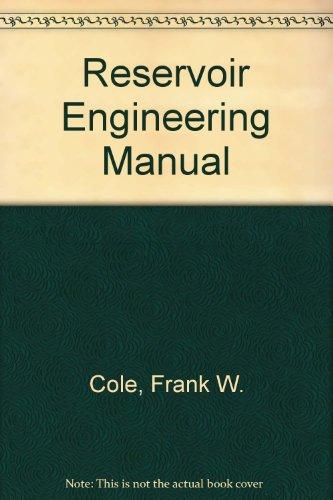 9780872017795: Reservoir Engineering Manual
