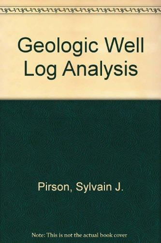 9780872019027: Geologic Well Log Analysis
