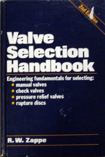 9780872019188: Valve Selection Handbook