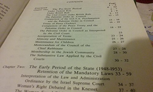 9780872031289: Husband and Wife in Israeli Law