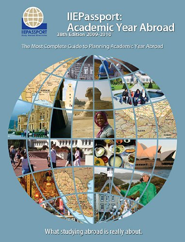 IIEPassport 2009: Academic Year Abroad (0872063100) by Marie O'Sullivan