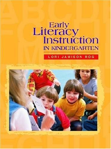 9780872071698: Early Literacy Instruction in Kindergarten