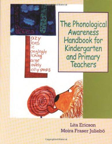 9780872071803: The Phonological Awareness Handbook for Kindergarten and Primary Teachers
