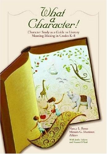 What a Character! Character Study as a: Junko Yokota; Sharon