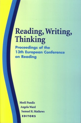 Reading, Writing, Thinking: Proceedings of the 13th European Conference on Reading: Meeli Pandis