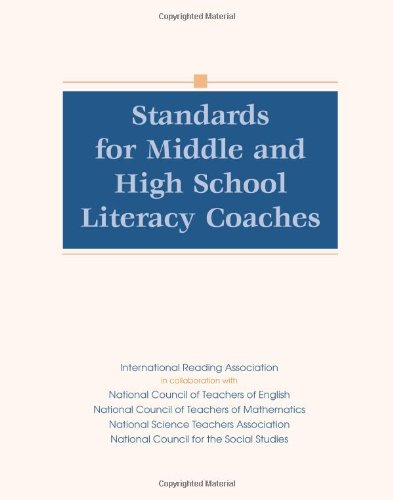 9780872075979: Standards for Middle and High School Literacy Coaches