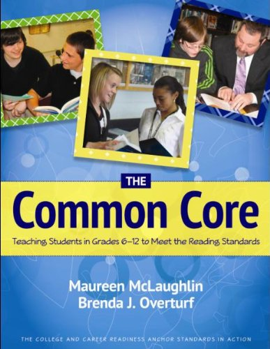 9780872077065: The Common Core: Teaching Students in Grades 6-12 to Meet the Reading Standards