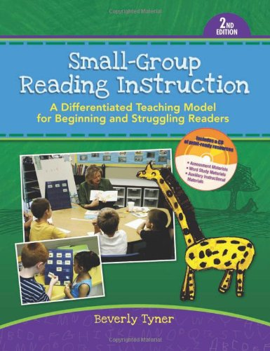 9780872077096: Small-Group Reading Instruction: A Differentiated Teaching Model for Beginning and Struggling Readers