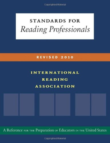 9780872077133: Standards for Reading Professionals-Revised 2010