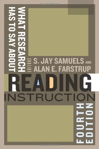 9780872078291: What Research Has to Say About Reading Instruction, Fourth Edition