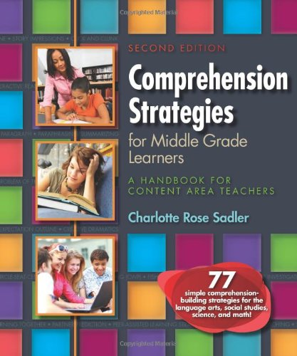 9780872078376: Comprehension Strategies for Middle Grade Learners: A Handbook for Content Area Teachers, Second Edition