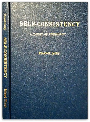 9780872080270: Self-consistency: A theory of personality