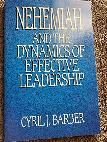 Nehemiah: Barber, Cyril J.