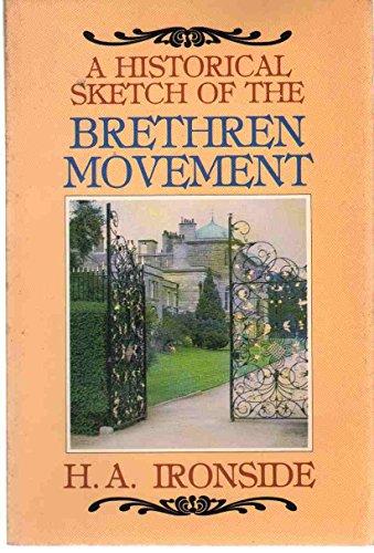 9780872133440: A Historical Sketch of the Brethren Movement
