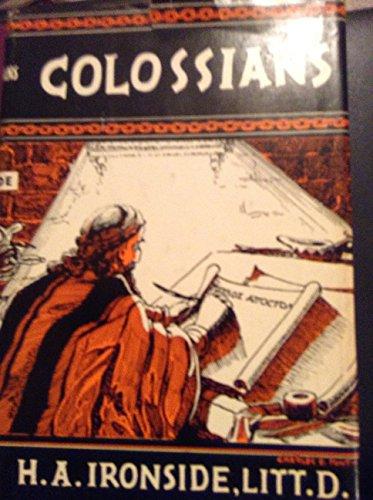 9780872133525: Colossians