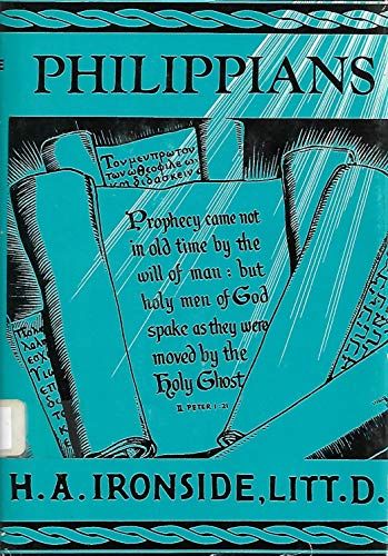 9780872133815: Notes on the Epistle to the Philippians