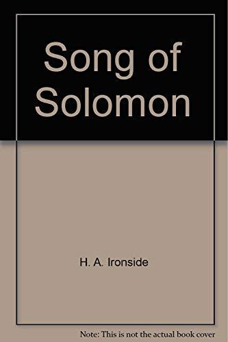 9780872133891: Song of Solomon