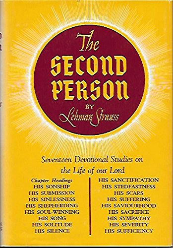 9780872138261: The Second Person: Devotional Studies on the Life of the Lord